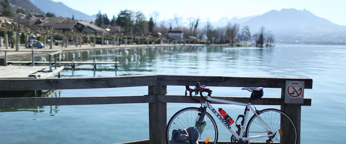 Le Tour du Lac d'Annecy en vélo