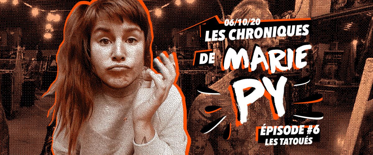 Les chroniques de Marie Py