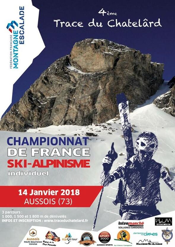 Championnat de France FFME : La Trace du Châtelard