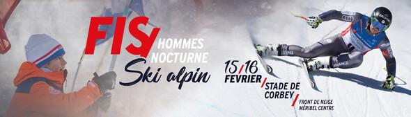 Course Ski Alpin FIS - Slalom Hommes nocturne