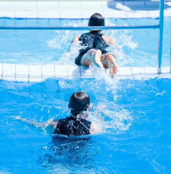 La piscine en 3D