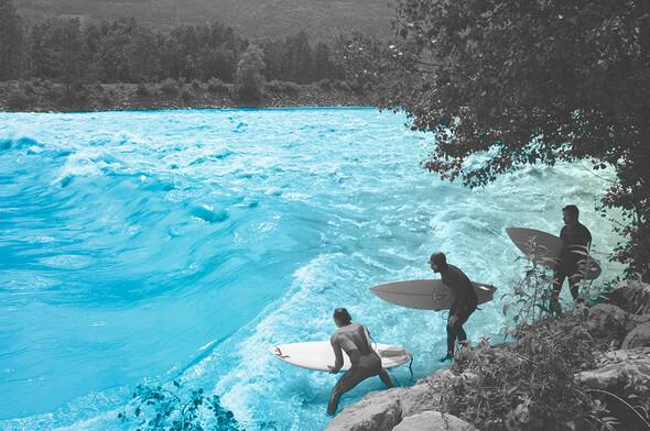 Le surf en eau douce