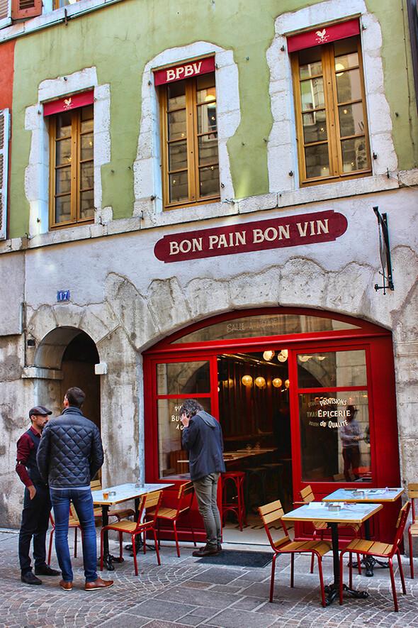 Bon pain Bon vin