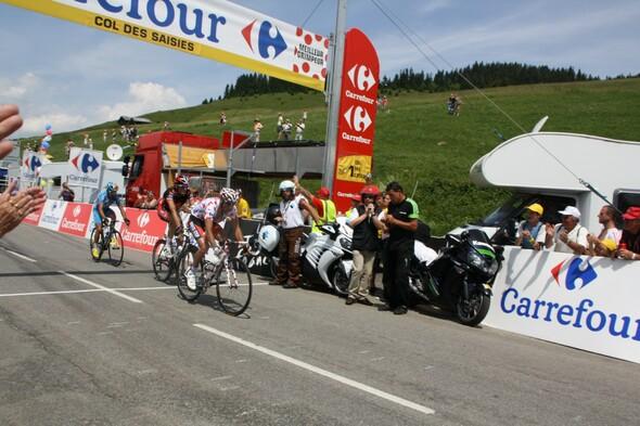 Passage du Tour de France (18ème étape) - Report