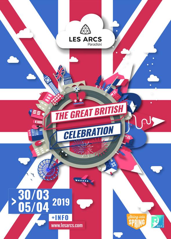 The Great British Celebration :  Luge et concert