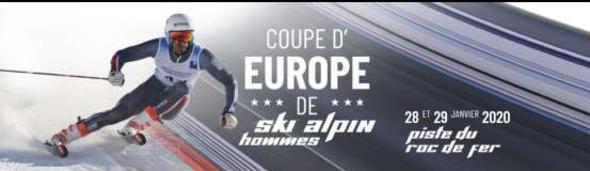 Coupe d'Europe de Ski Alpin Slalom Géant