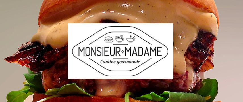 Monsieur Madame - cantine gourmande