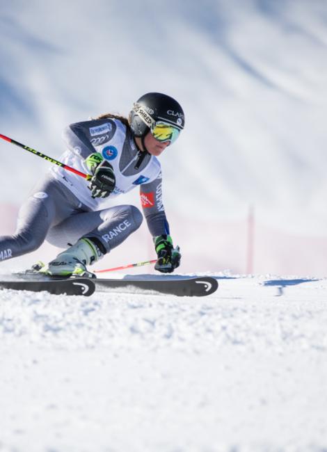 Flèche, slalom géant Méribel