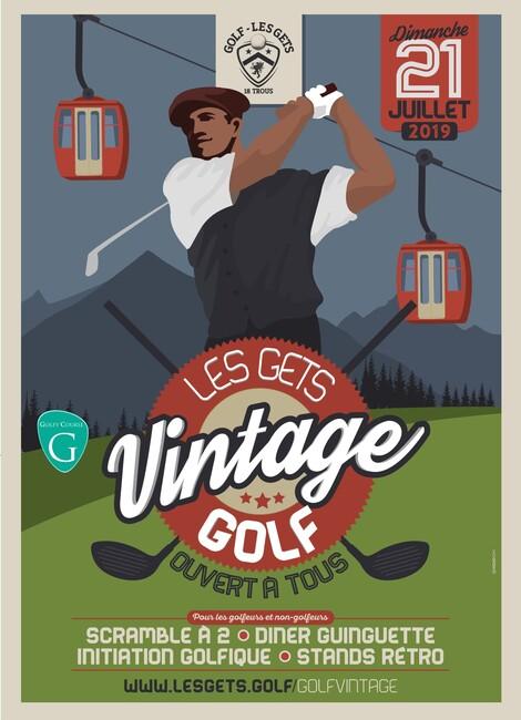 Les Gets Golf Vintage