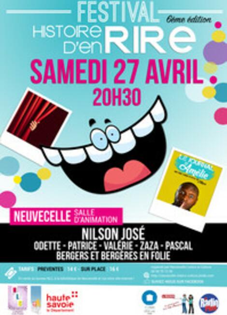"""6ème festival """"Histoire d'en Rire"""""""