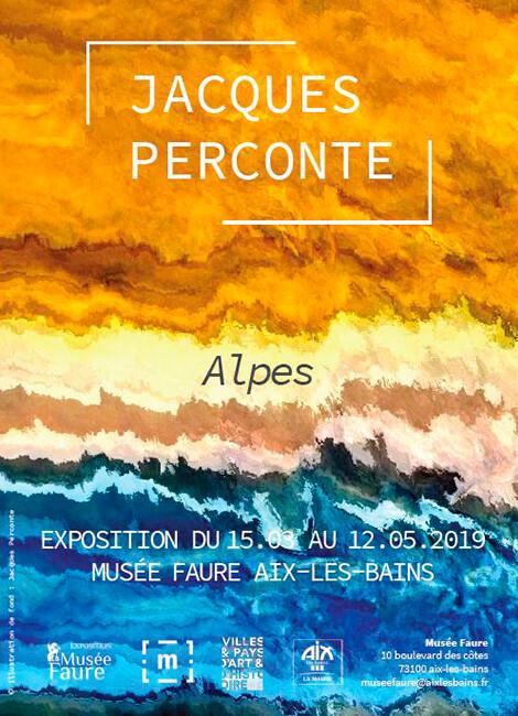 """""""ALPES"""" de JACQUES PERCONTE"""