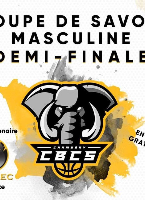 Match de basket : Demi-Finale de Coupe de Savoie - CBCS-Montmélian