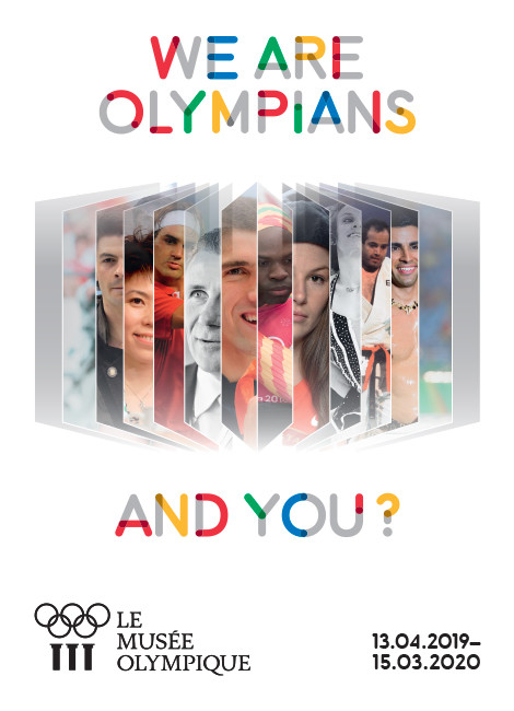 WE ARE OLYMPIANS, AND YOU ?