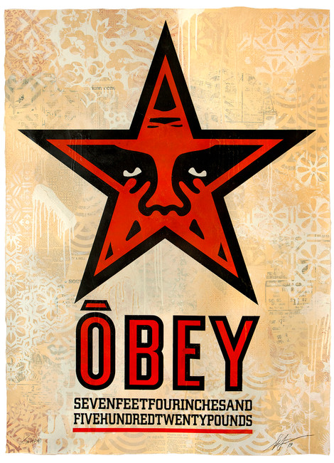 OBEY - 30 YEARS OF RESISTANCE. A PRINT SURVEY OF SHEPARD FAIREY