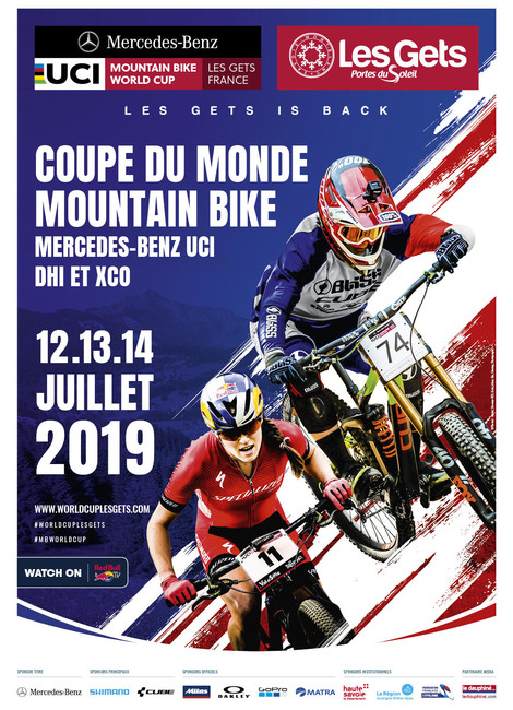Coupe du Monde MTB UCI Mercedes-Benz 2019 Les Gets
