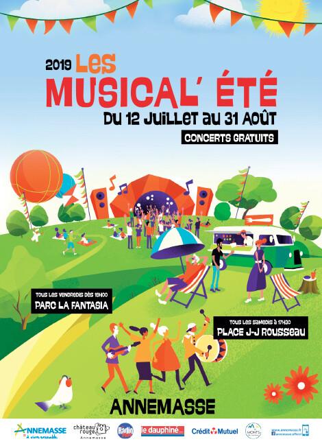 LES MUSICAL'ÉTÉ