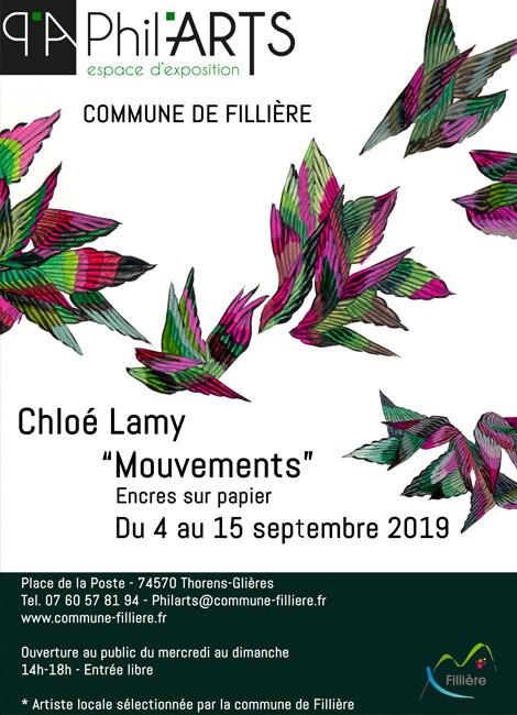 """""""MOUVEMENTS"""" DE CHLOÉ LAMY"""
