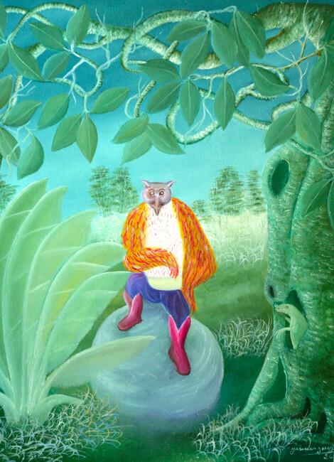 Jasmin JOSEPH : le Conte du Hibou