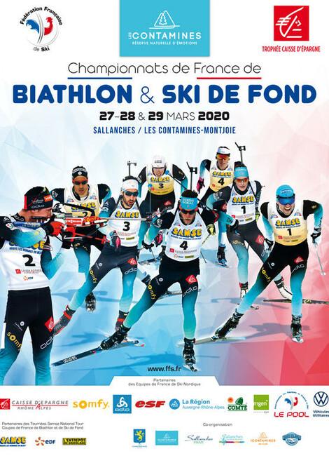 CHAMPIONNAT DE FRANCE DE BIATHLON ET SKI DE FOND