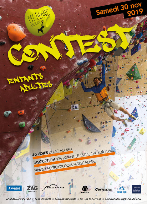Contest Escalade Mont Blanc Escalade