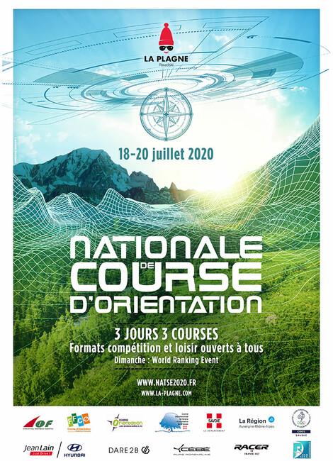 Nationale de Course d'Orientation 2020 - ANNULATION