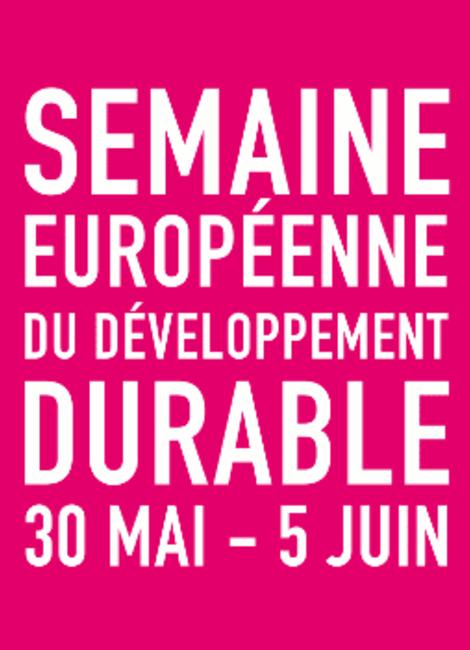 Semaine Européenne du développement durable - Report