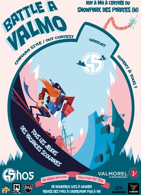 Battle à Valmo