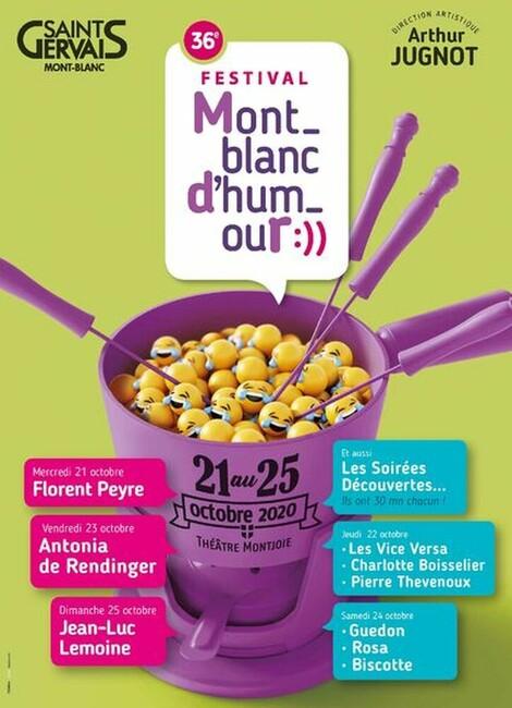 Festival Mont-Blanc d'Humour 2020