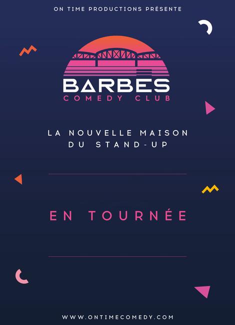 BARBÈS COMEDY CLUB EN SUISSE