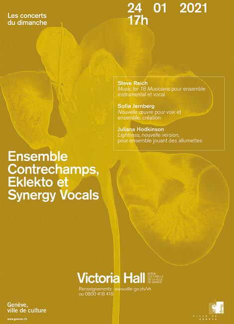Ensemble Contrechamps Eklekto Synergy Vocals
