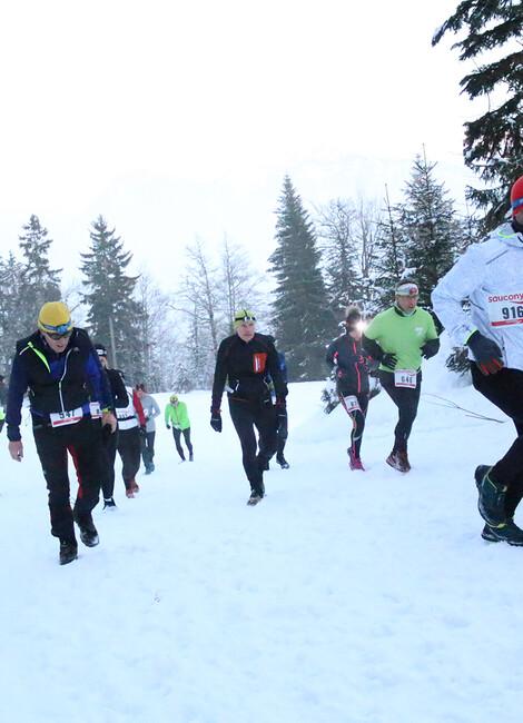 Trail sur Neige la Fée Blanche - Terre de Running