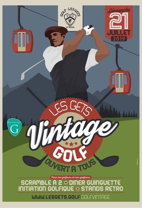 Les Gets Golf Vintage