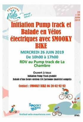 Festival du vélo : Initiation Pump track et Balade VAE