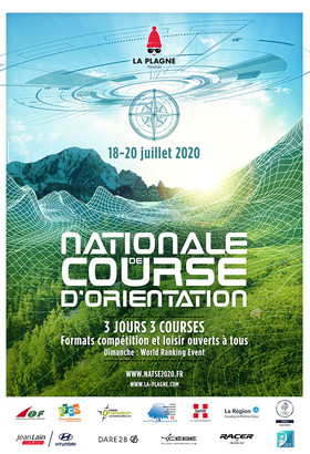Nationale de Course d'Orientation 2020 - ANNULATION