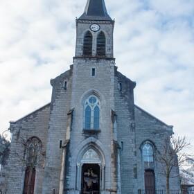 Place de l'église CHATEL